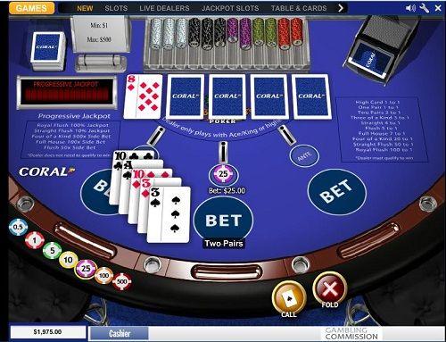 Caribbean Stud Casinos