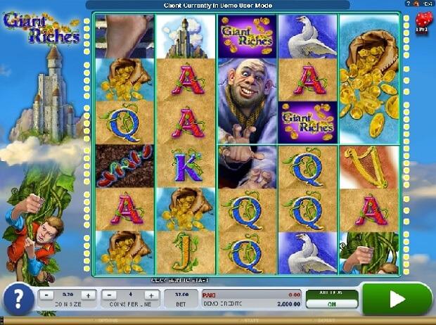 Giant Riches Slot