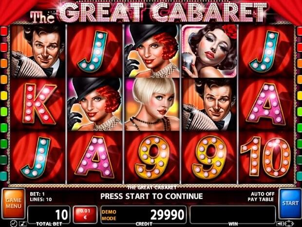 The Great Cabaret Slot